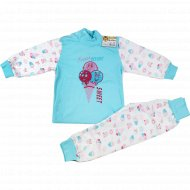 Комплект детский (кофточка, штанишки) 20525, размер: 86-56.