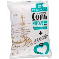Соль пищевая «Морская плюс» мелкая йодированная, 1 кг.