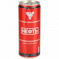 Напиток энергетический «Neft» со вкусом клюква-арония, 0.33 л.