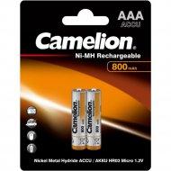 Комплект аккумуляторов «Camelion» NH-AAA 800BP2, 3674, 2 шт