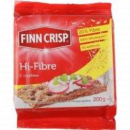 Хлебцы «Finn Crisp» ржаные с отрубями, 200 г.
