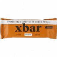 Батончик протеиновый «xbar» со вкусом печенья, 60 г.