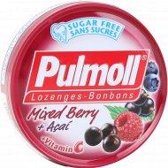 Карамель со стевией «Pulmoll» Ягодный микс, 45 г.