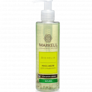 Мусс-желе «Markell» для умывания с муцином улитки, 200 мл.