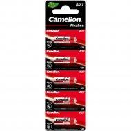 Комплект батареек «Camelion» Mercury Free, A27-BP5, 12830, 5 шт