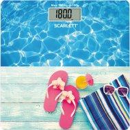 Весы напольные «Scarlett» SC-BS33E058,бассейн.