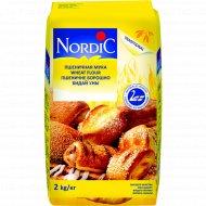 Мука пшеничная «Нордик» 2 кг.