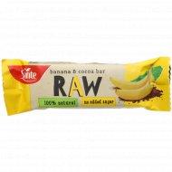Фруктовый батончик «Raw» с бананом и какао, 35 г.