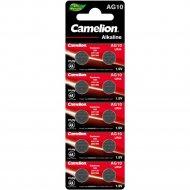 Комплект батареек «Camelion» Mercury Free, AG10-BP10, 12818, 10 шт