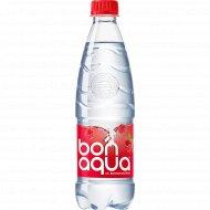 Вода питьевая, газированная «Bonaqua» малина, 0.5 л.