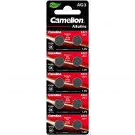 Комплект батареек «Camelion» Mercury Free, AG3-BP10, 12811, 10 шт