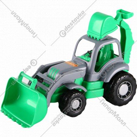 Игрушка трактор «Полесье» 49834.