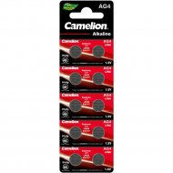 Комплект батареек «Camelion» Mercury Free, AG4-BP10, 12812, 10 шт