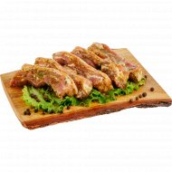 Полуфабрикат «Шашлык из свинины на ребрышках» в маринаде, 1.8 кг.