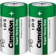 Комплект батареек «Camelion» R20P-SP2 green, 1662, 2 шт