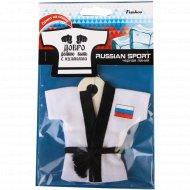 Ароматизатор подвесной «Russian Sport Кимоно» черная линия.