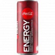Напиток энергетический «Кока-Кола Энерджи» тонизирующий, 0.25 л.