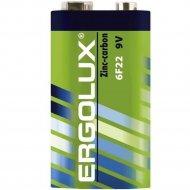 Батарейка «Ergolux» 6F22 SR1 9В, 12443