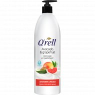 Крем-гель для душа «Q'rell» авокадо и грейпфрут 950 мл.