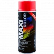 Эмаль-аэрозоль «Maxi color» универсальная, красная, 400 мл.