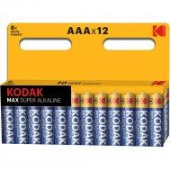 Комплект батареек «Kodak» max LR03 BL-12, Б0008960, 12 шт