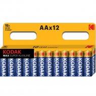 Комплект батареек «Kodak» max LR6 BL-12, Б0008961, 12 шт