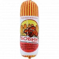 Колбаса для животных «Бобик новый» замороженная, 1 кг, фасовка 1.2-1.4 кг