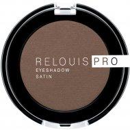 Тени для век «Relouis» Pro Eyeshadow Satin, тон 34, 3 г.
