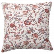 Подушка «Спрэнгорт» бело-розовая, 50x50 см.