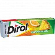 Жевательная резинка «Dirol» тропический коктейль 13.6 г.