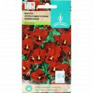 Семена виола «Рубиновая» крупноцветковая, рогатая, 0.1 г.