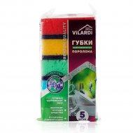 Губка для мытья посуды «Vilardi» 5 шт.