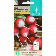 Семена редис «Розово-красный с белым кончиком» 2 г.