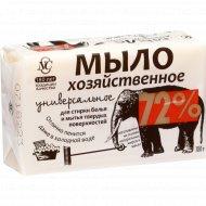 Мыло хозяйственное твердое универсальное, 72%, 180 г.