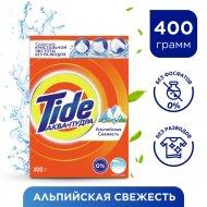 Порошок стиральный «Tide» альпийская свежесть, 400 г.