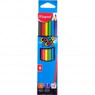Карандаши цветные «COLOR PEPS» 6 шт.