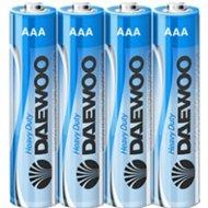 Комплект батареек «Daewoo» Heavy Duty R03 SP4, 4 шт