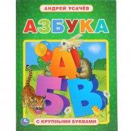 Книга «Азбука» с крупными буквами.