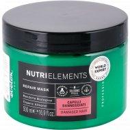 Маска восстанавливающая «Nutri elements» для поврежденных волос, 500 мл