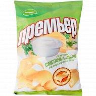 Чипсы «Премьер» сметана и сыр, 70 г
