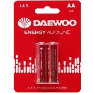 Комплект батареек «Daewoo» LR6 BL-2 ENERGY Alkaline, 5029750, 2 шт
