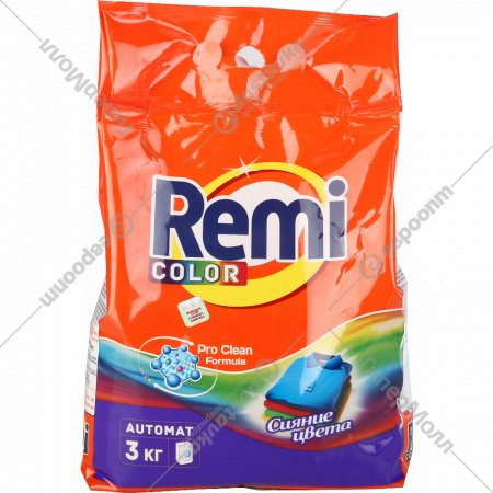 Порошок стиральный «Remi» color, 3 кг.
