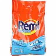 Порошок стиральный «Remi» universal, горная свежесть, 3 кг.