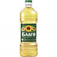 Масло подсолнечное «Благо» рафинированное, 1.8 л
