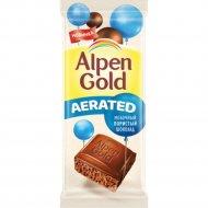 Шоколад молочный пористый «Alpen Gold» Aerated, 80 г