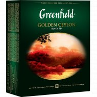 Чай чёрный «Greenfield» Golden Ceylon 100 х 2 г.