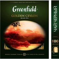 Чай чёрный «Greenfield» Golden Ceylon 100 шт. Х 2 г.