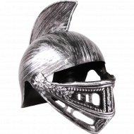 Шапка карнавальная пластмассовая «Шлем гладиатора» 25 Х 18 Х 13 см.