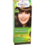 Краска для волос «Palette» фитолиния, 600 светло-каштановый.