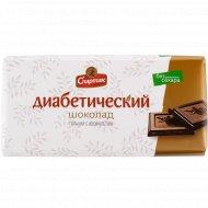 Шоколад диабетический «Спартак» горький с изомальтом, 90 г.